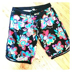 Blue Kiss swim shorts. Excellent
